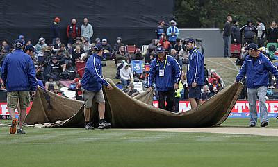 Rain abandons day one of Christchurch Test