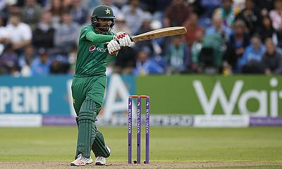 Babar Azam remained unbeaten on 90