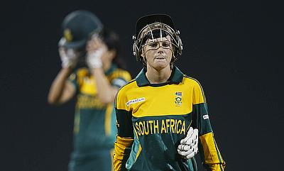 Dane van Niekerk top scored for South Africa with 81