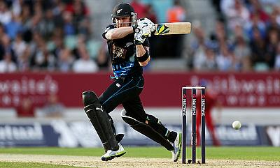 Brendon McCullum was named the man of the match