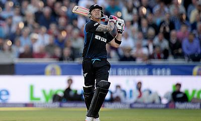 Brendon McCullum scored an unbeaten 72 off 35 balls