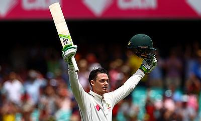 Peter Handscomb has scored 399 runs from four Tests