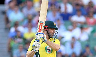 Shaun Marsh scored 57 off 34 deliveries