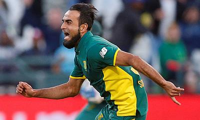 Imran Tahir was warned for his celebration during second T20I