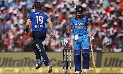 Lokesh Rahul (right) had a quiet series with the bat against England