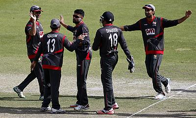 UAE finished the tri-series tournament in Dubai with most points