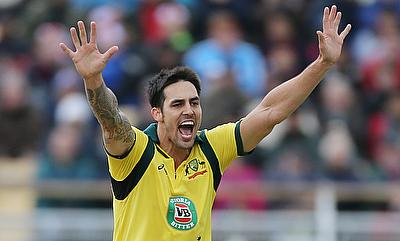 Mitchell Johnson once again gave a brilliant start to Perth Scorchers with the ball