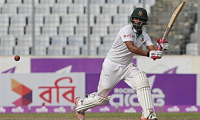 Tamim Iqbal remained unbeaten on 42 in the second innings