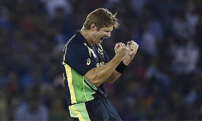 Shane Watson picked four wickets and scored unbeaten 26 as well