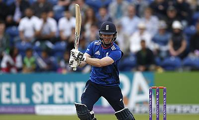 Eoin Morgan scored unbeaten 80 off 57 deliveries