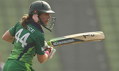 Ceceilia Joyce in action for Ireland
