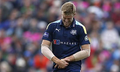 David Willey suffered the injury during the recent ODI series against India