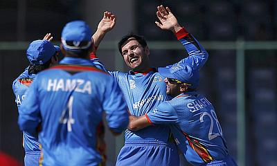 Mohammad Nabi picked three wickets and scored 34 runs