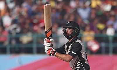 Grant Elliott scored a vital knock during the chase