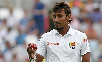 Suranga Lakmal scored important runs with the bat and also picked Sabbir Rahman