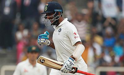 Cheteshwar Pujara scored his third double century on day four of Ranchi Test