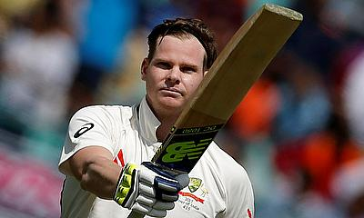 Steven Smith was outstanding for Australia in the first innings