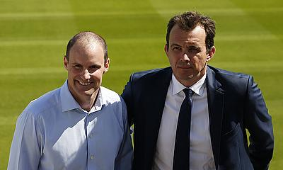 ECB Chief Executive Tom Harrison (right) believes the new competition will be successful