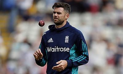 James Anderson is raring to return to action
