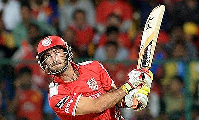 Glenn Maxwell led from the front for Kings XI Punjab