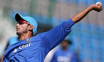 Axar Patel registered figures of 12 for one in the four overs