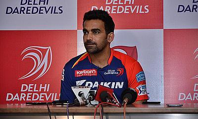 Zaheer Khan led from the front in the bowling for Delhi