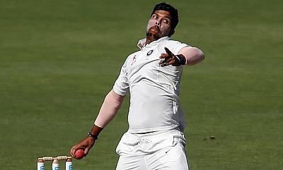 Umesh Yadav had a successful home season for India