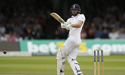 James Vince led from the front for Hampshire