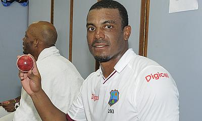 Shannon Gabriel picked a nine wicket haul in the game