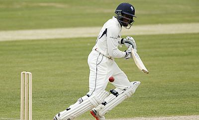 Daniel Bell-Drummond scored his second consecutive century