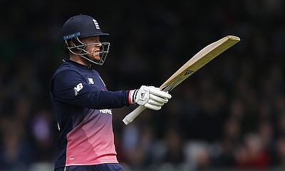 Jonny Bairstow scored an unbeaten 72 off 44 deliveries