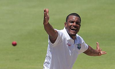 Shannon Gabriel registered a nine wicket haul in the second Test against Pakistan