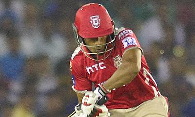 Wriddhiman Saha played a handy knock for Punjab