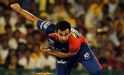 Zaheer Khan had an outstanding day with the ball