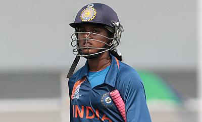 Poonam Raut scored a century as well