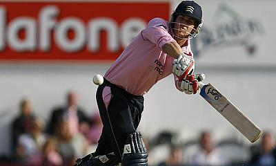 Dawid Malan scored a century for Middlesex