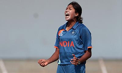 Jhulan Goswami picked three wickets