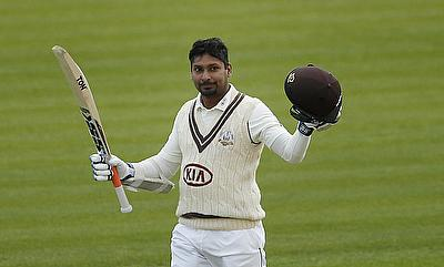 Kumar Sangakkara slammed his fifth consecutive century