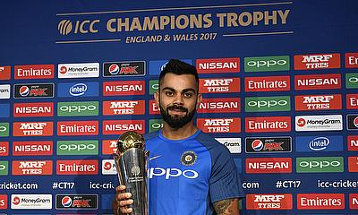 Virat Kohli will be leading India for the first time in an ICC tournament