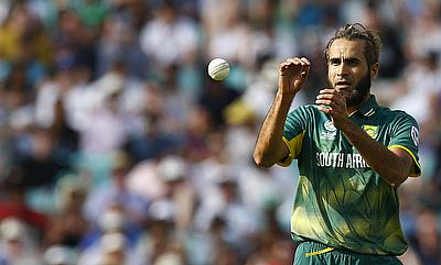 Imran Tahir picked four wickets in the game