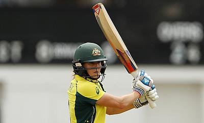 Ellyse Perry top scored for Australia with 66 runs against Pakistan