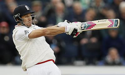 Nick Compton top scored in the final innings with 49 runs