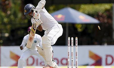 Dinesh Chandimal had a tough day on his second day as captain