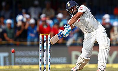 Rohit Sharma scored a breezy 38-run knock