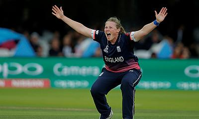 Anya Shrubsole was the player of the match in the Women's World Cup final