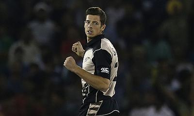 Mitchell Santner came up with an all-round performance