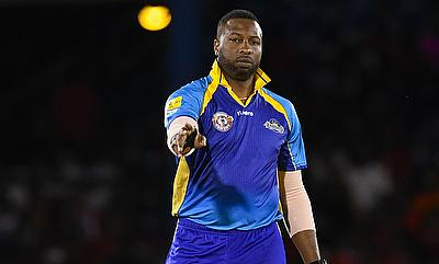 Kieron Pollard scored 62 off 33 balls in the chase