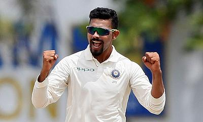 Ravindra Jadeja played a match winning role in the second Test