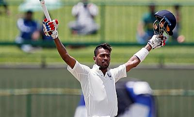 Hardik Pandya scored the fastest Test century for India