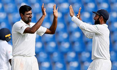 Ravichandran Ashwin (left) and Cheteshwar Pujara are set to be part of Division Two County Championship